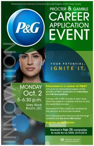 Proctor & Gamble Career Application Event