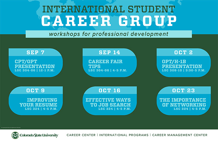 International Student Career Group