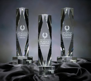 Photo of Professor Laureate awards
