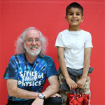 Brian Jones and Little Shop of Physics' 500,000th Student